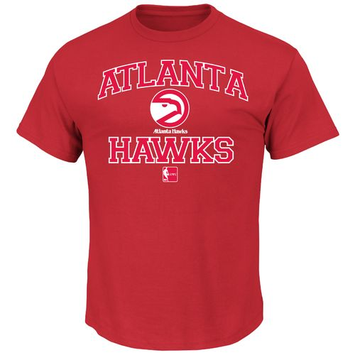 Majestic Men's Atlanta Hawks Hardwood Classics Heart and Soul T-shirt