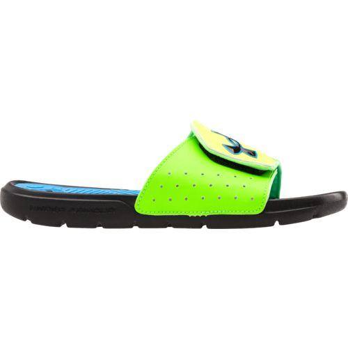 Under Armour® Boys' Playmaker V Sport Slides