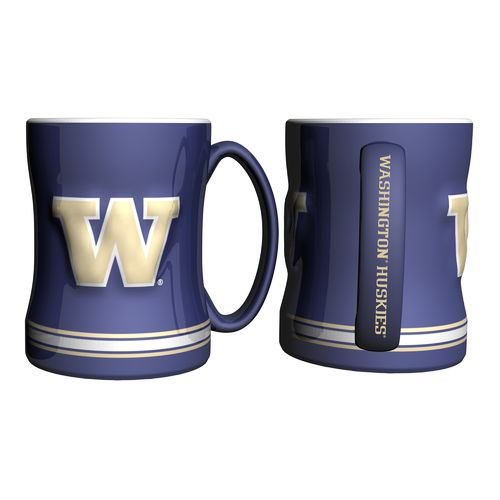 Boelter Brands University of Washington 14 oz. Relief Mugs 2-Pack