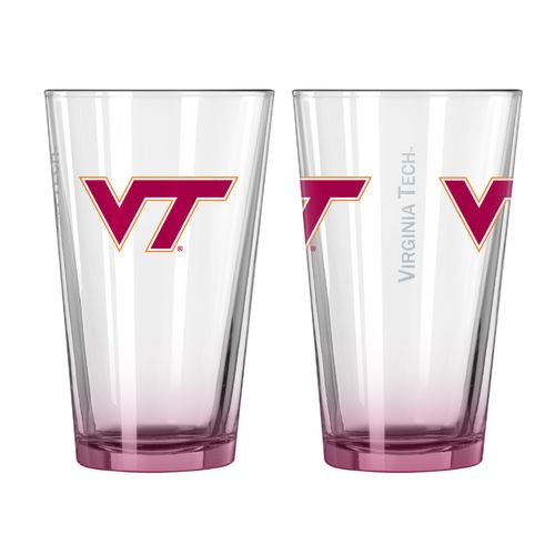 Boelter Brands Virginia Tech Elite 16 oz. Pint Glasses 2-Pack