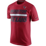 Nike Men's Houston Texans Team Stripe T-shirt