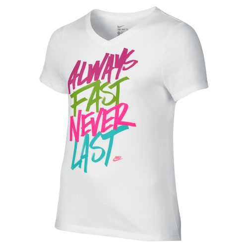 Nike Girls' Never Last Training T-shirt