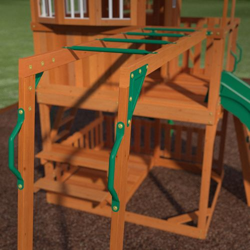 Backyard Discovery™ Skyfort II Wooden Swing Set - view number 9