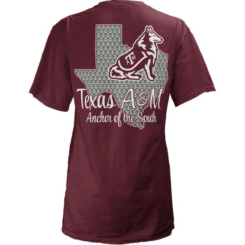Three Squared Juniors' Texas A&M University State Monogram