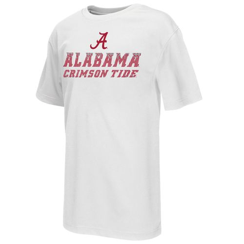 Colosseum Athletics™ Boys' University of Alabama Pixel Short Sleeve T-shirt