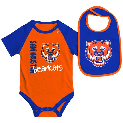 Colosseum Athletics Infants' Sam Houston State University Rookie Onesie and Bib Set