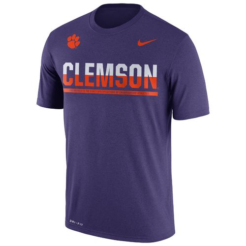 Nike™ Men's Clemson University Legend Staff T-shirt