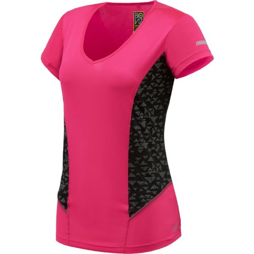 BCG™ Women's Bio Viz V-neck Running T-shirt
