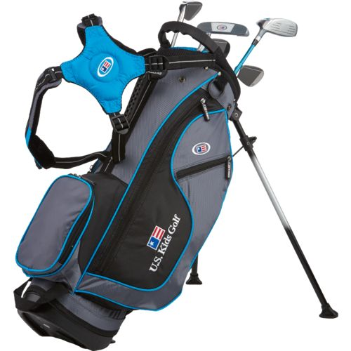 U.S. Kids Golf Juniors' Ultralight 5-Club Stand Bag Set