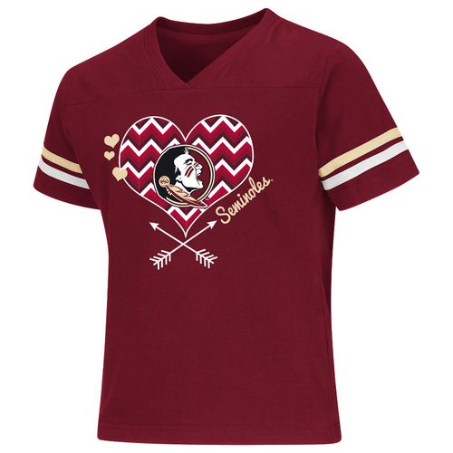 Colosseum Athletics Girls' Florida State University Football Fan