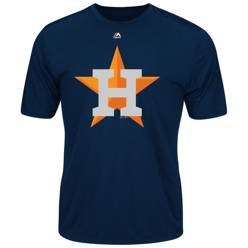 Majestic Men's Houston Astros Synthetic Official Logo T-shirt