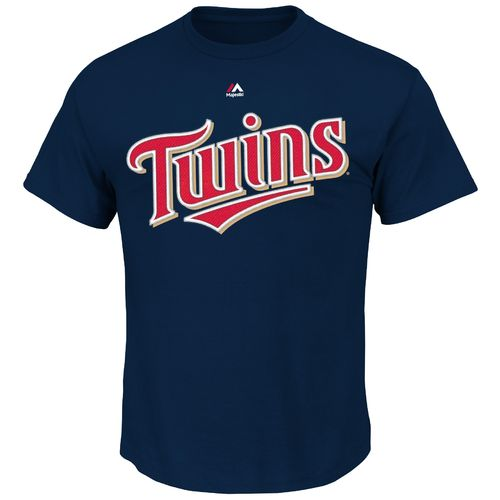 Majestic Men's Minnesota Twins Miguel Sano #22 T-shirt - view number 2