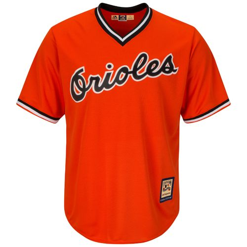 Majestic Men's Baltimore Orioles Reggie Jackson #9 Cooperstown Cool Base 1965-66 Replica Jersey - view number 2