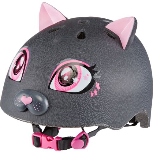 Raskullz Girls' Kitty Bicycle Helmet - view number 1