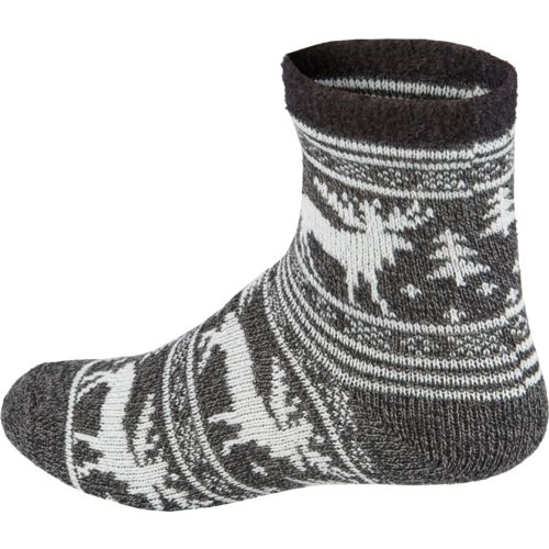 Magellan Outdoors Women's Lodge Moose Pattern Socks - view number 2