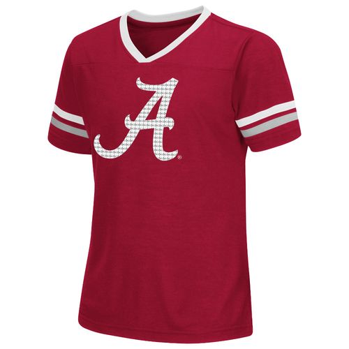 Colosseum Athletics™ Girls' University of Alabama Titanium T-shirt