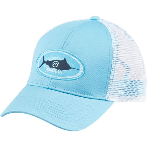 Magellan Outdoors Men's Marlin Oval Trucker Hat