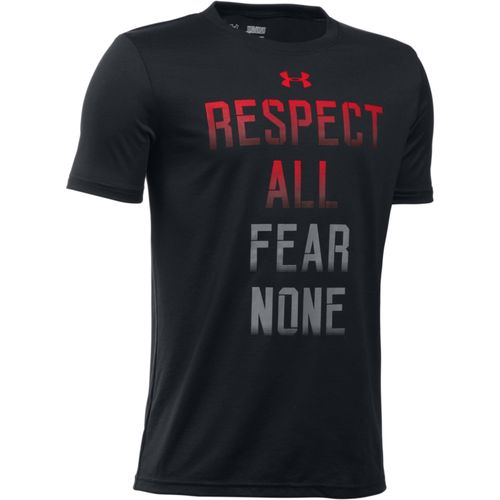 Under Armour® Boys' Respect All Short Sleeve T-shirt