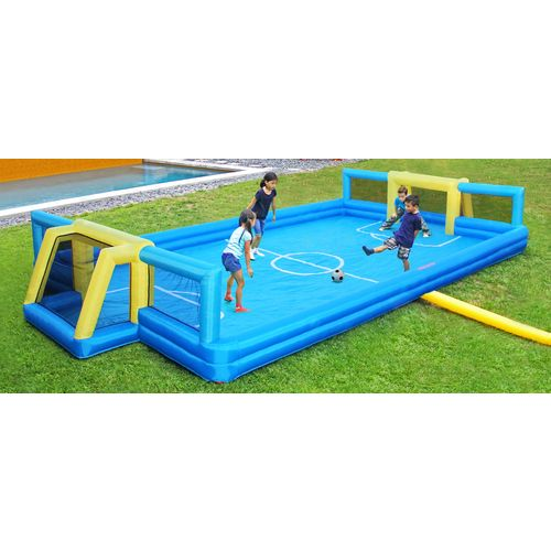Display product reviews for Sportspower Inflatable Soccer Court