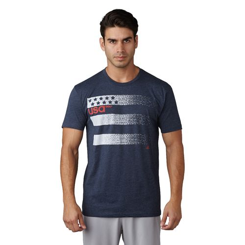 adidas™ Men's Team USA 3-Stripe Olympic T-shirt