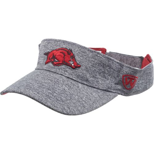 Top of the World Men's University of Arkansas Steam Visor