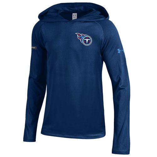 Under Armour™ NFL Combine Authentic Boys' Tennessee Titans Tech Hoodie - view number 1