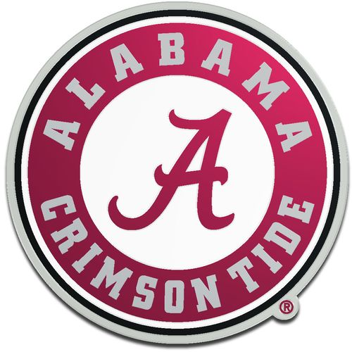 Stockdale University of Alabama Laser-Cut Auto Emblem