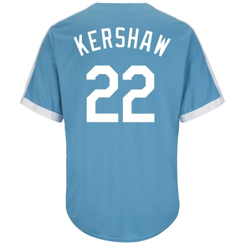 Majestic Men's Los Angeles Dodgers Clayton Kershaw #22 Cool Base Cooperstown Jersey