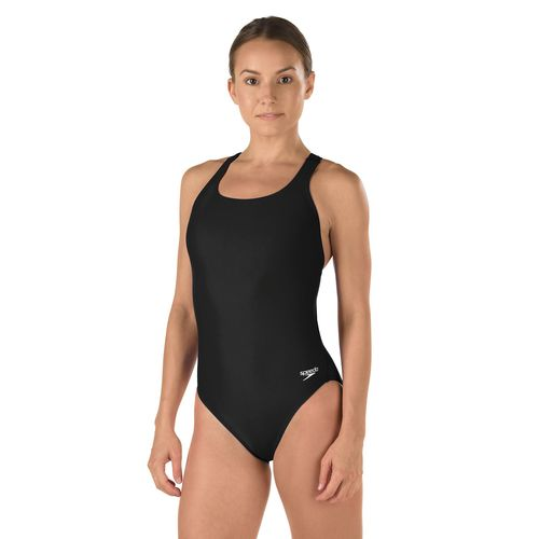 Speedo Women's PowerFLEX Eco Solid Super Pro 1-Piece Swimsuit