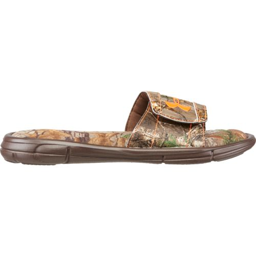 Under Armour Boys' Ignite Camo Soccer Slides