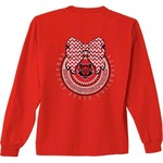 New World Graphics Women's Arkansas State University Ribbon Bow Long Sleeve T-shirt