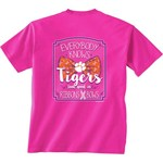 New World Graphics Women's Clemson University BCA Ribbon T-shirt