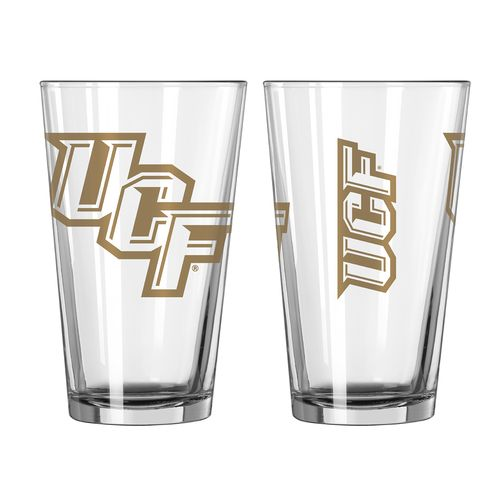 Boelter Brands University of Central Florida Game Day 16 oz. Pint Glasses 2-Pack