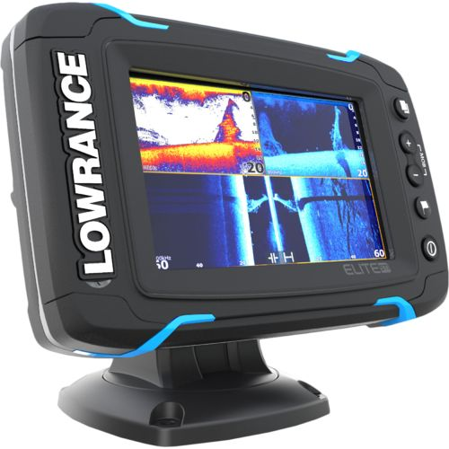 Lowrance elite 5 ti mid high downscan fishfinder gps combo for Academy fish finder