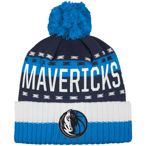adidas™ Men's Dallas Mavericks Cuffed Pom Knit Hat