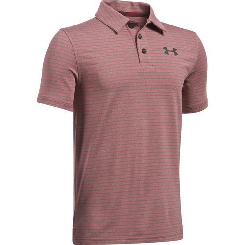 Under Armour® Boys' Composite Stripe Polo Shirt
