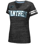 G-III for Her Women's Carolina Panthers Off Tackle T-shirt
