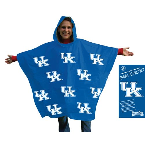 Storm Duds Men's University of Kentucky Lightweight Stadium Poncho - view number 1