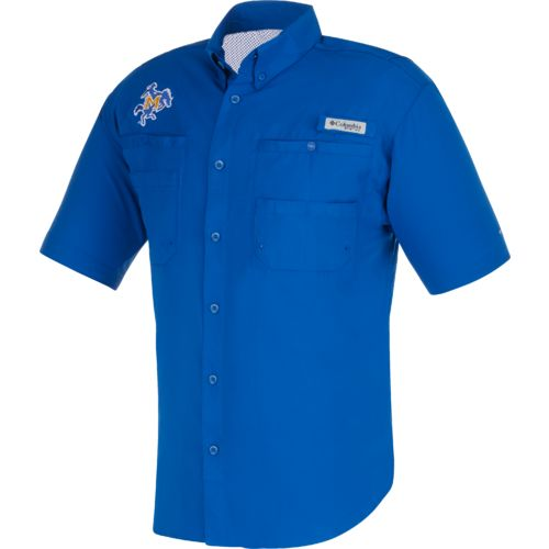 Columbia Sportswear Men's McNeese State University Tamiami™ Button Down Shirt