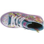 SKECHERS Girls' Twinkle Toes Shuffles Trendy Talk Shoes - view number 4