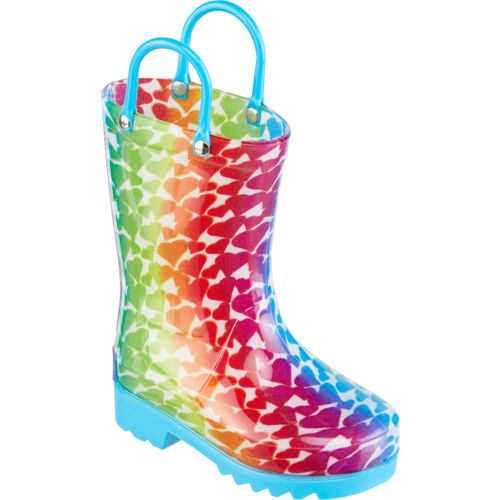 Austin Trading Co. Girls' Ombre Heart Boots - view number 2