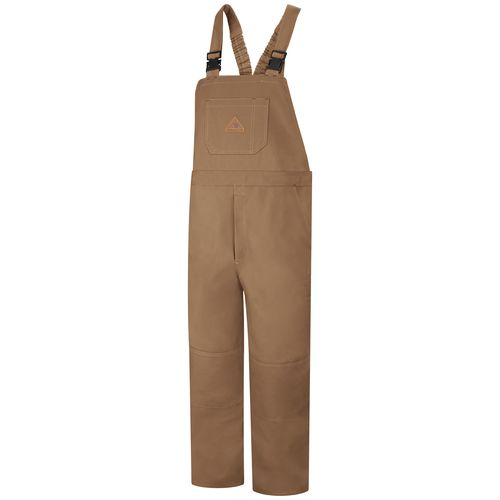 Bulwark Men's Flame Resistant Duck Unlined Bib Overall