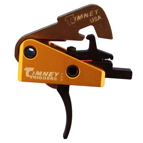 Timney Triggers AR-10 Single-Stage Curved Competition Solid Trigger