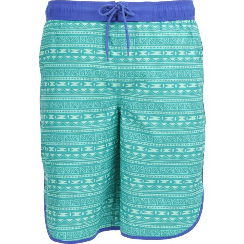 O'Rageous Men's Geo Aztec Scalloped Boardshort