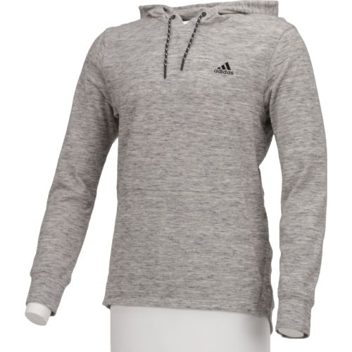 adidas Men's Essentials Heather Pique Pullover Hoodie