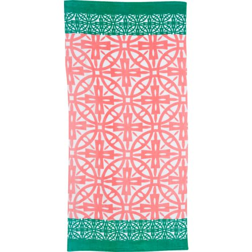 O'Rageous Kids' Geometric Beach Towel