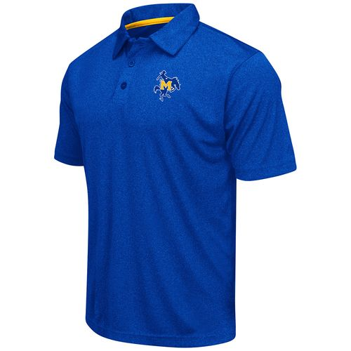 Colosseum Athletics™ Men's McNeese State University Academy Axis Polo Shirt