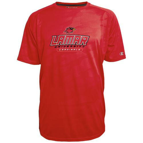Champion™ Men's Lamar University Impact Embossed T-shirt