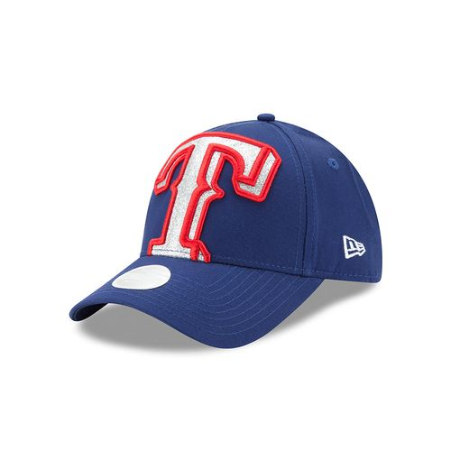 New Era Women's Texas Rangers 9FORTY Glitter Glam 3 Cap - view number 1