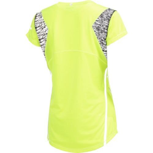 BCG Women's BioViz Short Sleeve V-neck Running Top - view number 3